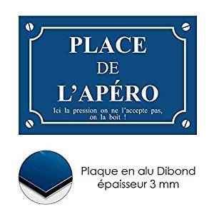 Idee apero plaque place