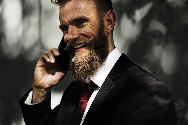 Peigne à barbe barbu