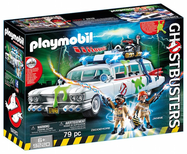 concours playmobil ghostbuster ecto 1 coffret