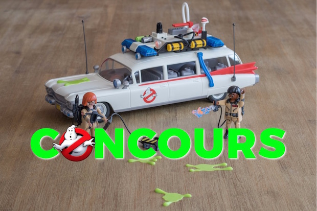 concours playmobil ghostbuster ecto 1