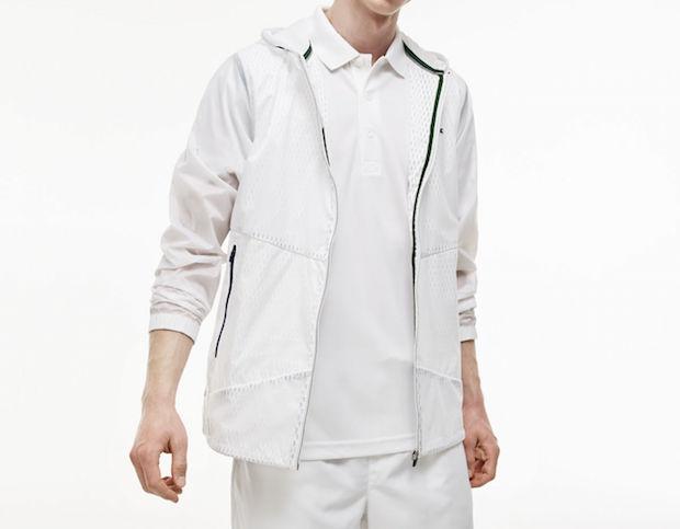 djokovic lacoste novac tenue rolland garros veste
