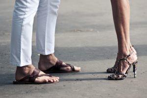sandales homme cuir