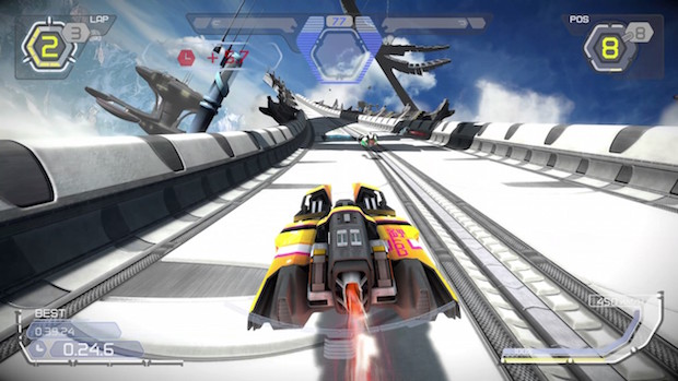 test wipeout omega collection ps4 gameplay