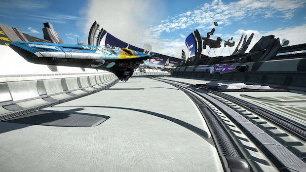 test wipeout omega collection ps4 vaisseau