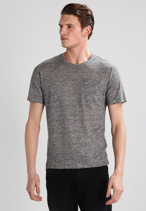 vetement en lin homme tee shirt the kooples