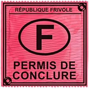 preservatif capote permis