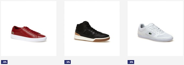 soldes lacoste chaussures homme