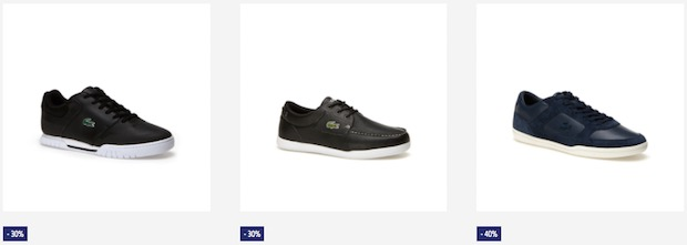 soldes lacoste chaussures