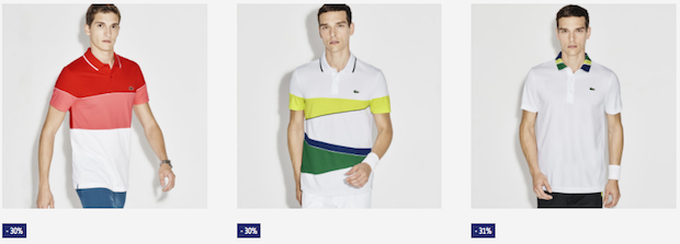 soldes lacoste polo homme