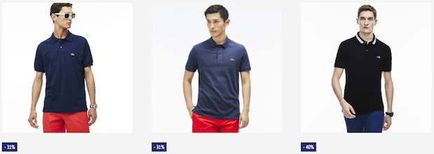 soldes lacoste polo