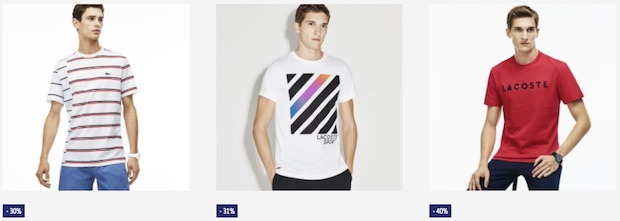 soldes lacoste tshirt homme