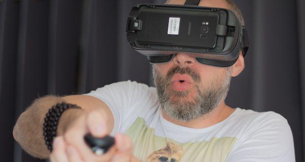 [Test] Gear VR, le casque de réalité virtuelle de Samsung