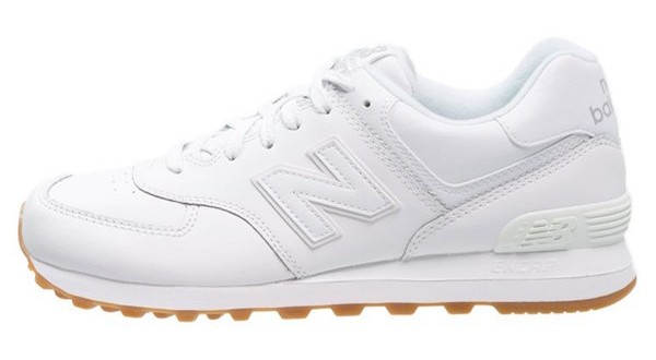 new balance blanc