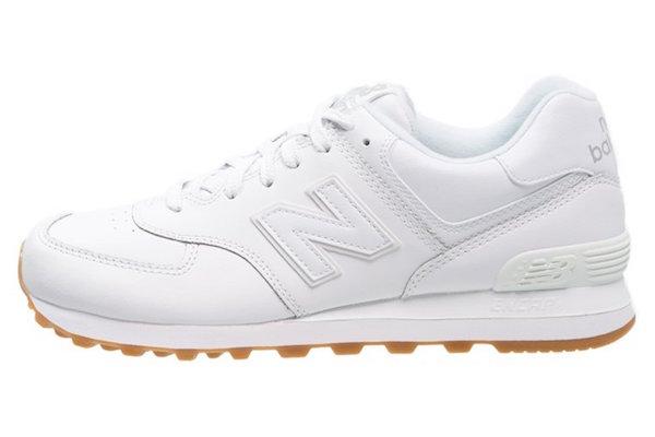 New Balance NB574 blanche en solde