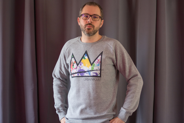 avis sweat urbanik art homme mode