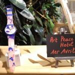 montre swatch collection printemps été 2016 Art Peace Hotel