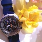 montre swatch collection printemps été 2016 Blue Face – collection X Lite