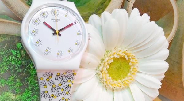montre swatch collection printemps été 2016 fleur