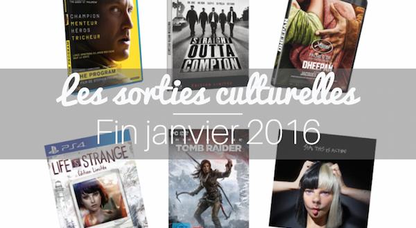 sortie culturelle janvier 2016