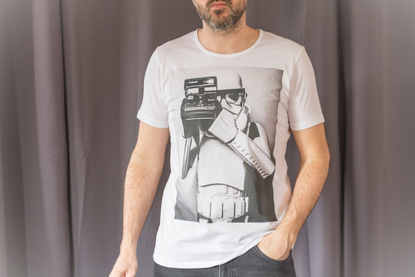 no comment paris tshirt stormtrooper selfie