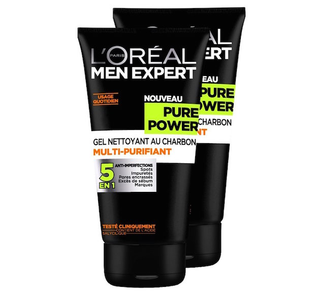 soin visage homme nettoyant loreal