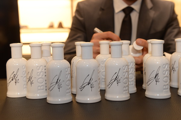 les parfums dedicacés