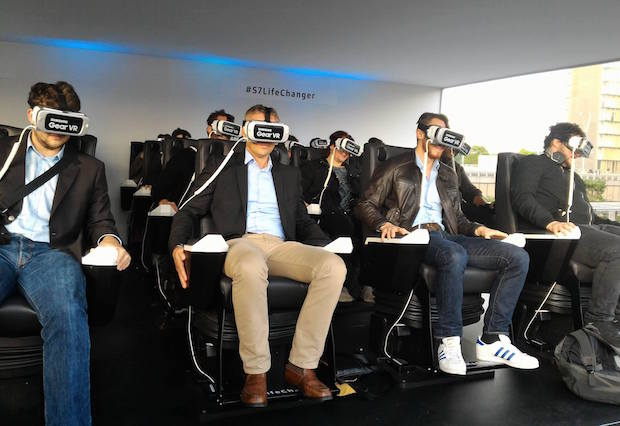 Samsung ouvre son parc d'attraction éphémère à Paris
