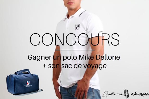 CONCOURS – Gagnez un polo Mike Dellone