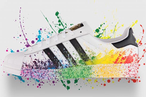 pride pack adidas arc en ciel couleur