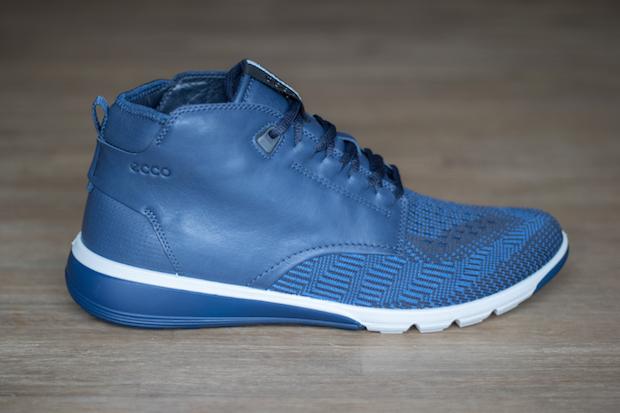 test ecco intrinsic 2 mens chaussure sneaker bleu