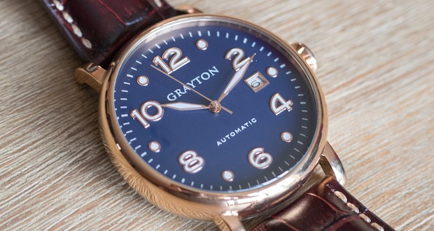 montre grayton automatique test