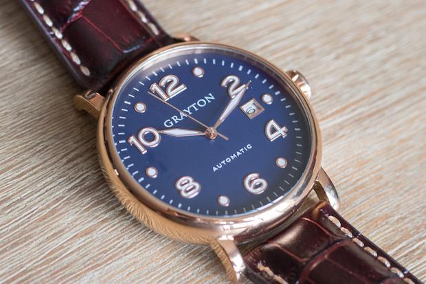 Présentation de la montre automatique Grayton