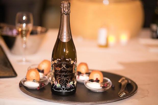 Soirée de gala avec la maison de Champagne Joseph Perrier