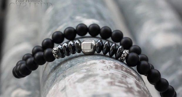 bracelet-pour-homme-perle