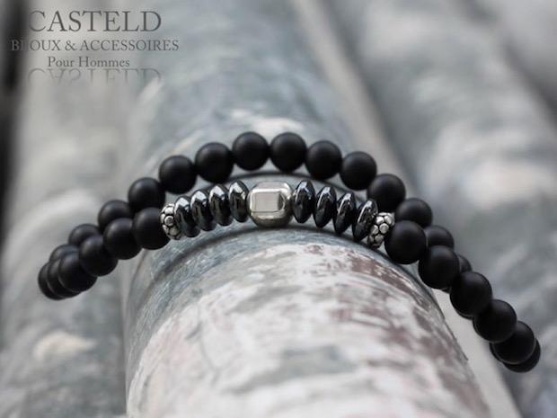 Casteld – Des bracelets homme intense