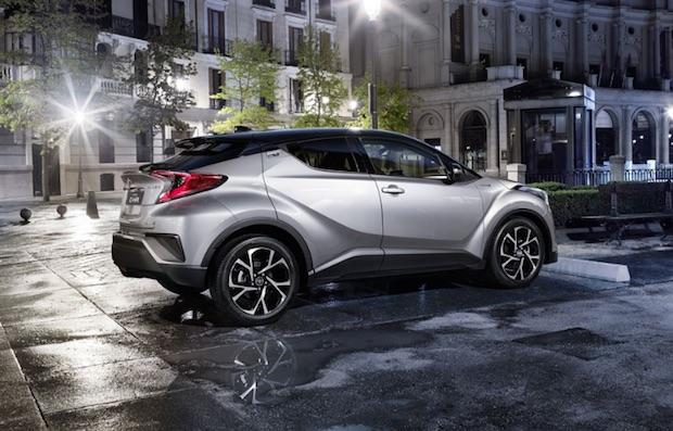Toyota C-HR – Un crossover hybride magnifique