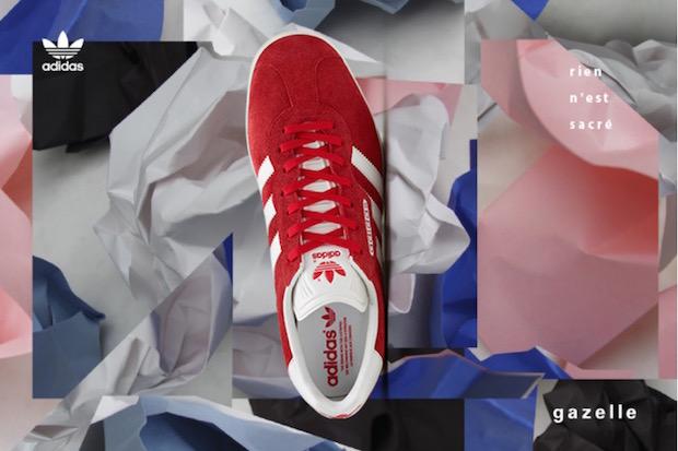 Adidas Gazelle Super, retour vers le futur