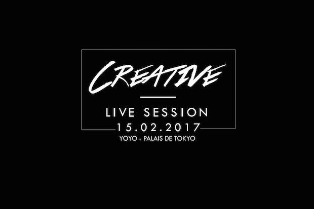 Creative live session au Yoyo du palais de Tokyo