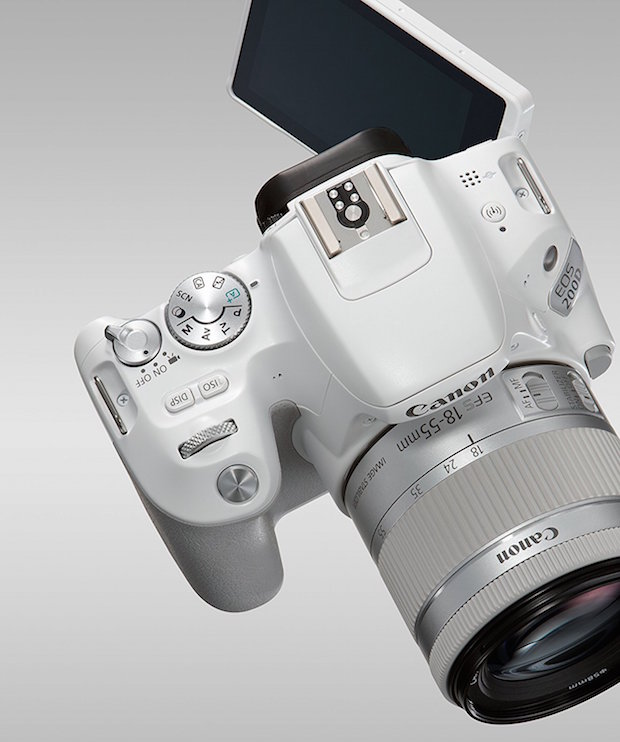 canon 200d blanc avis test appareil