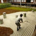 jardin zen miniature interieur japonais