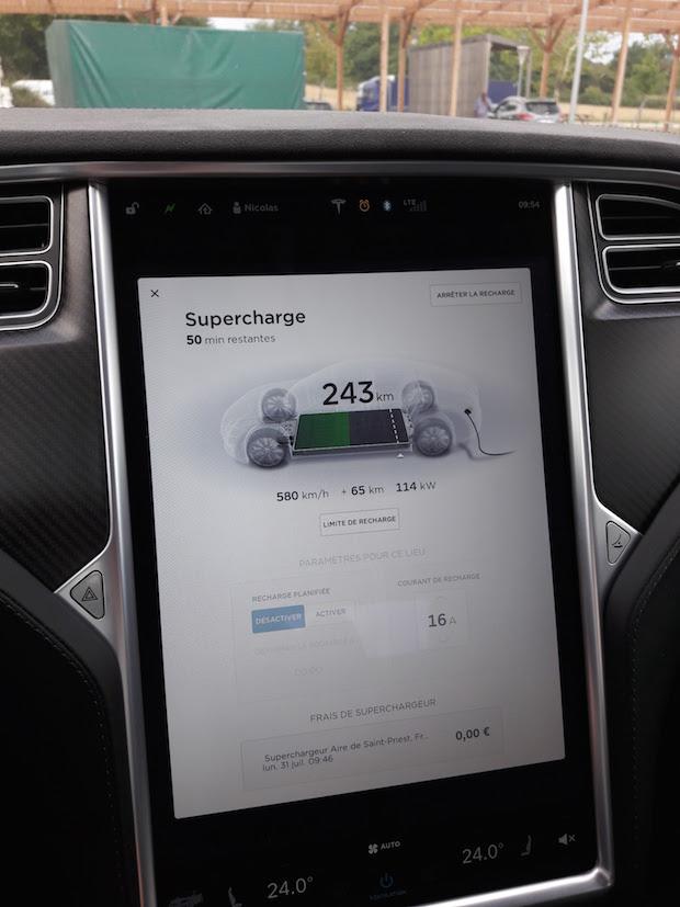 teslas model s essai avis voiture electrique 401