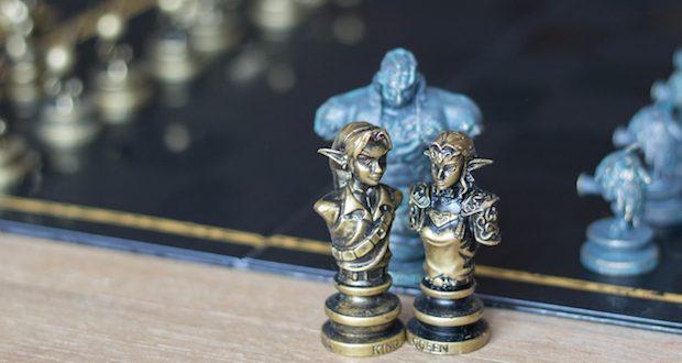 Le jeu d'échec Zelda, un échiquier hylien !