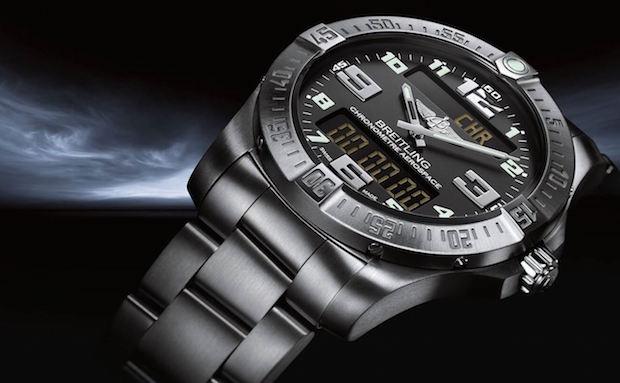 meilleur marque de montre homme breitling