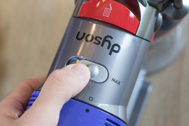 test aspirateur dyson v8 absolute sans sac puissance max