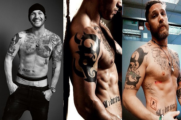 Tatouages Tom Hardy