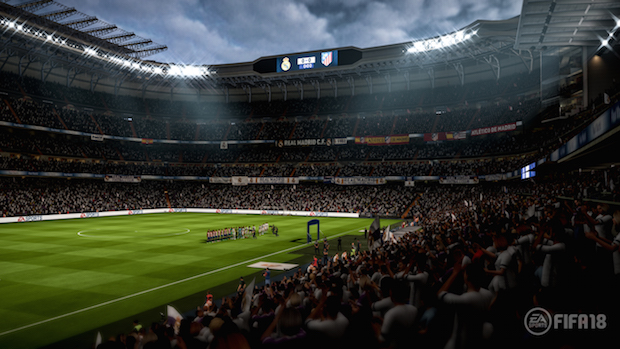 test fifa 18 ps4 BERNABEU