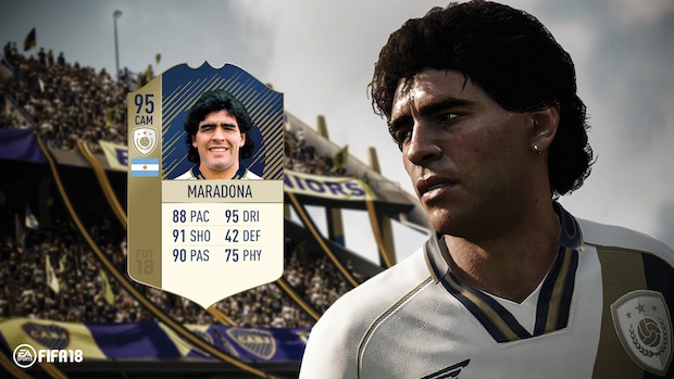 test fifa 18 ps4 maradona
