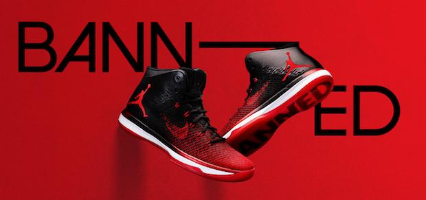 Histoire de Nike Air Jordan Banned