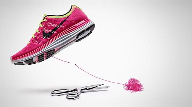 Nike Flyknit composant
