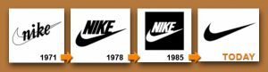 Nike evolution histoire